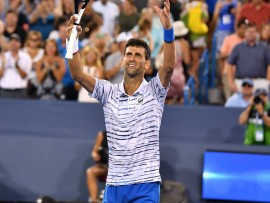 Novak Djokovic, Cincinnati