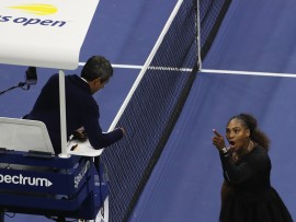 Serena Williams, US Open 2018, Carlos Ramos