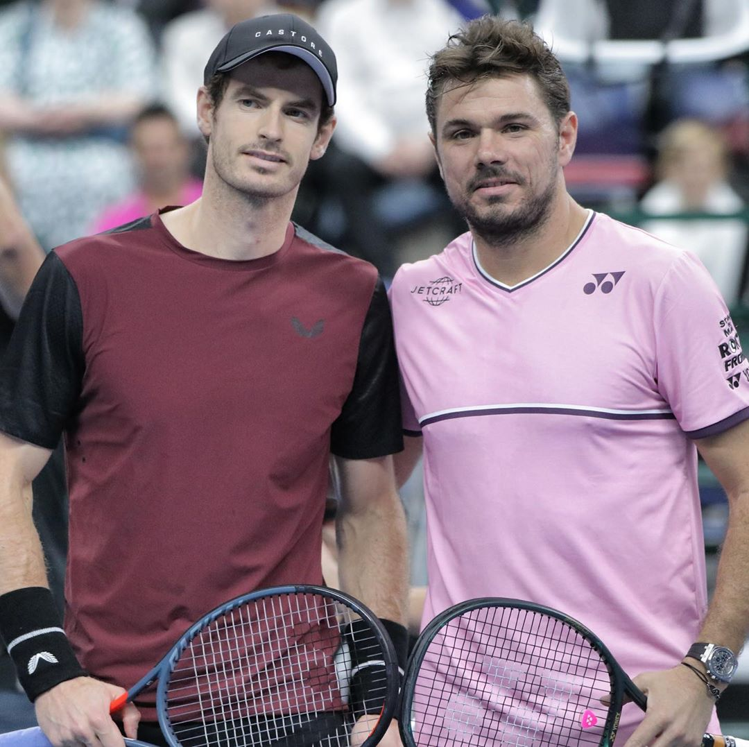 Andy Murray, Stan Wawrinka
