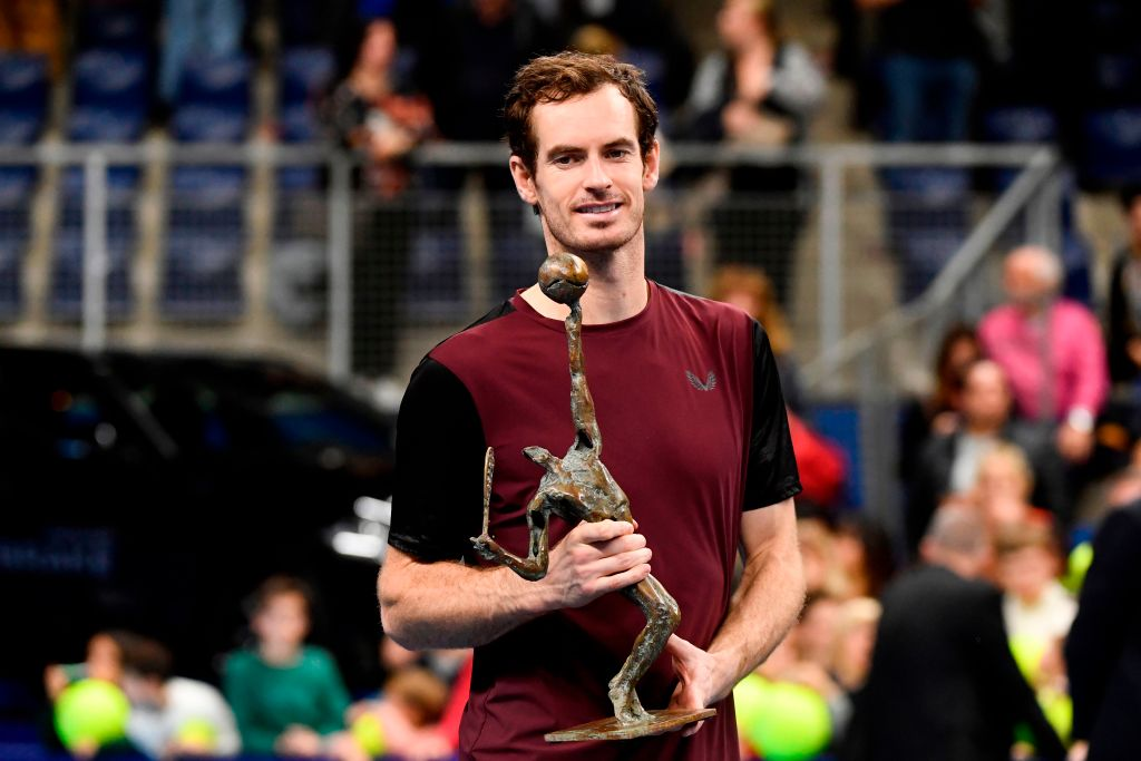 Andy Murray, Antwerp 2019