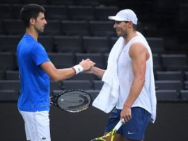 Rafael Nadal, Novak Djokovic, Paris 2019
