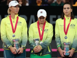 Ashleigh Barty, Fed Cup 2019