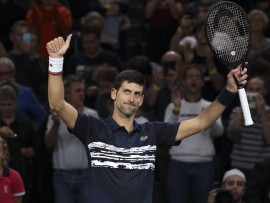 Novak Djokovic, Paris 2019