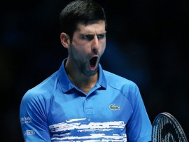 Novak Djokovic, London 2019