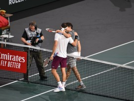 Grigor Dimitrov, Dominic Thiem, Paris 2019