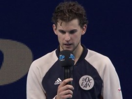 Dominic Thiem, London 2019