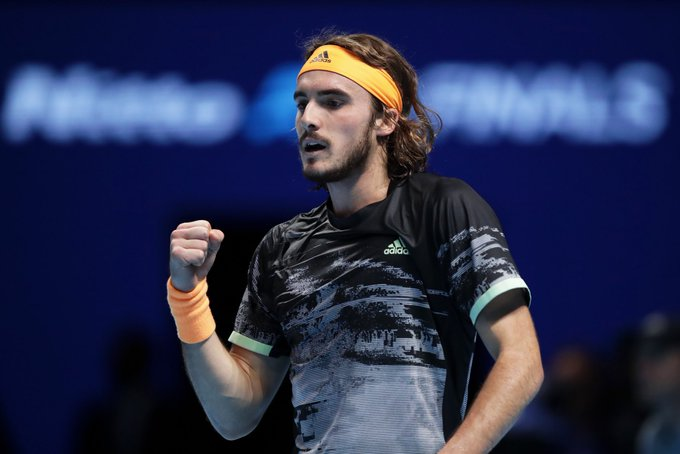 Stefanos Tsitsipas, London 2019