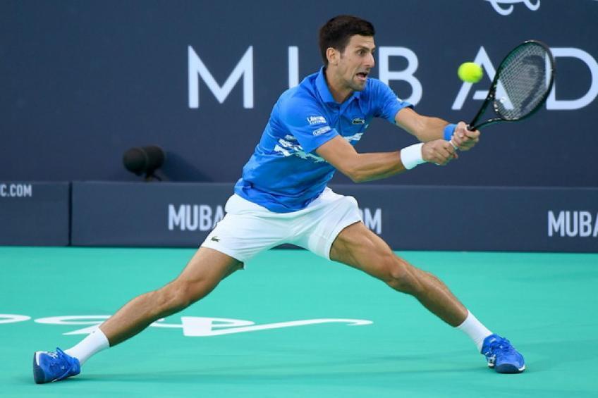 Novak Djokovic, Abu Dhabi