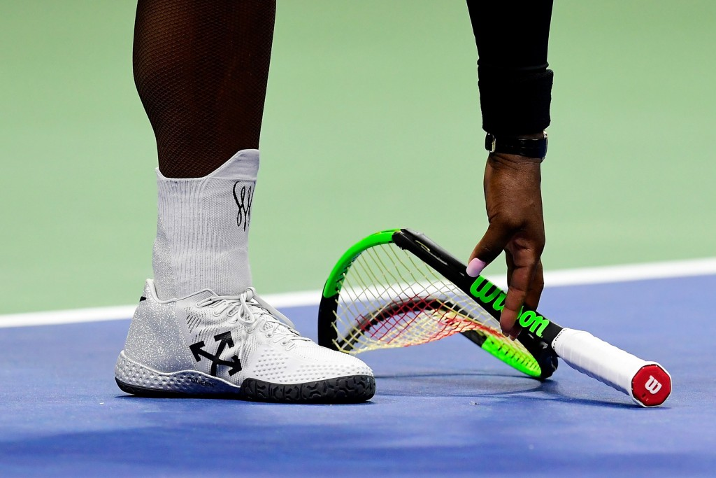 serena us open racket