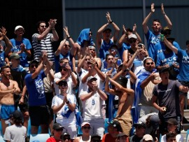 Greek fans - Australian Open