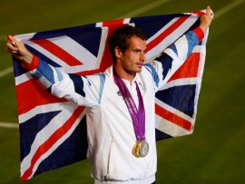 andy murray london gold