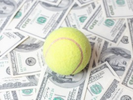 money in tennis