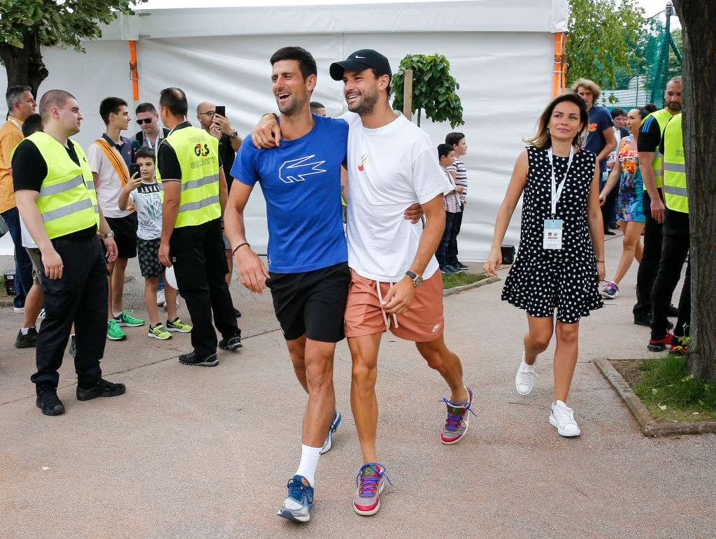 Grigor Dimitrov - Adria Tour Tennis