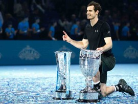 TENNIS-GBR-ATP-FINALS-TROPHY